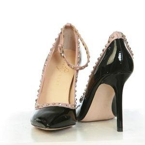 Ivanka Trump Black Heels  Pointy Toe Size 8.5